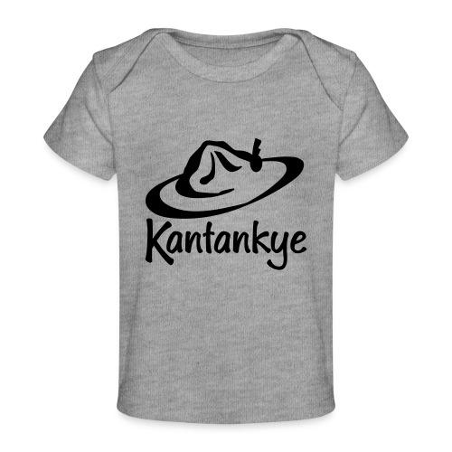 logo hoed naam - Baby bio-T-shirt