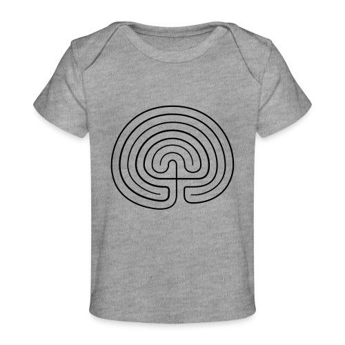 Labyrinth enna - Baby Bio-T-Shirt