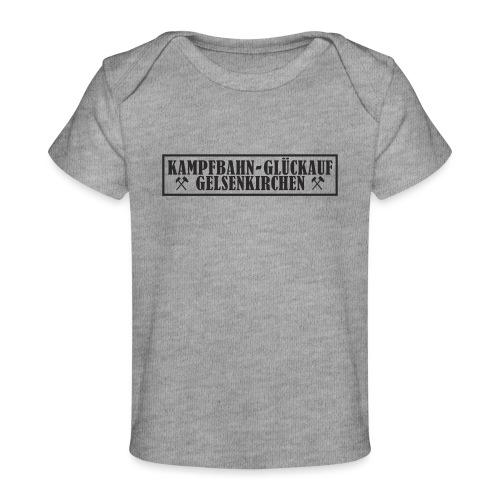 Glückauf Kampfbahn - Baby Bio-T-Shirt