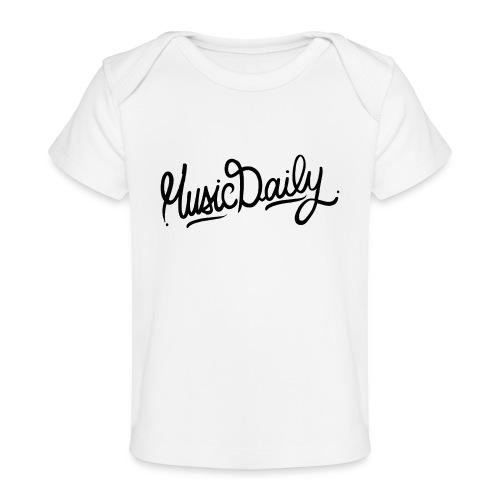 MusicDaily Logo - Baby bio-T-shirt