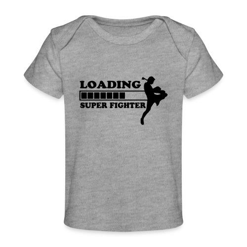 fighter loading - Baby bio-T-shirt