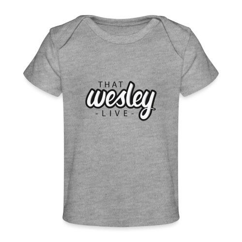 ThatWesleyLOGO 3 4 png - Baby bio-T-shirt