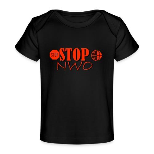 STOPNWO1 - Ekologiczna koszulka dla niemowląt