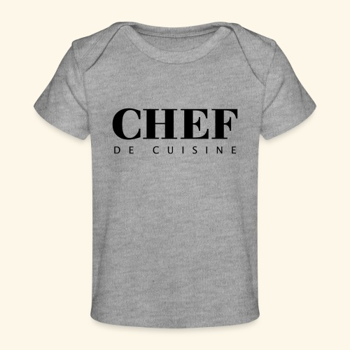 BOSS de cuisine - logotype - Organic Baby T-Shirt