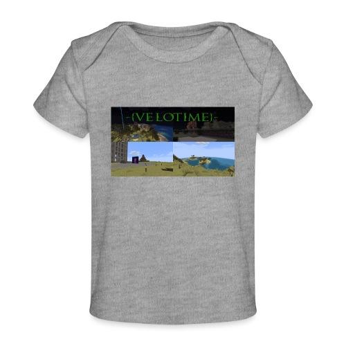 Velotime! - Ekologisk T-shirt baby