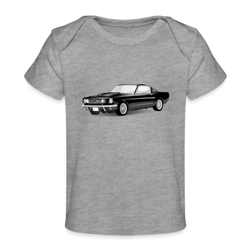 sport auto - Baby bio-T-shirt