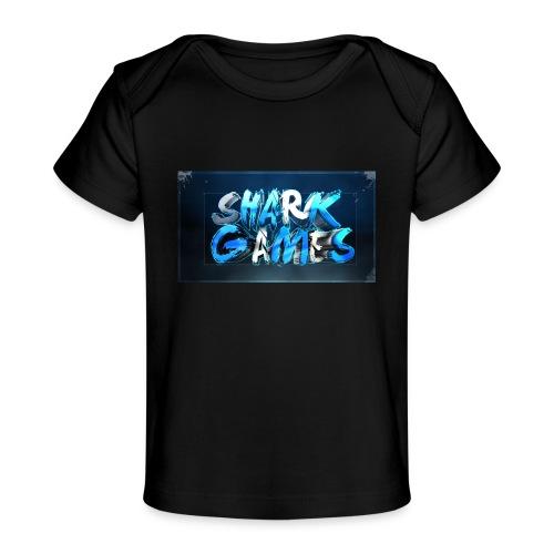 SharkGames - Maglietta ecologica per neonato