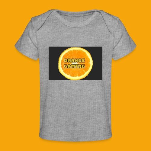 Orange_Logo_Black - Organic Baby T-Shirt