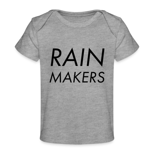 rainmakertext - Vauvojen luomu-t-paita