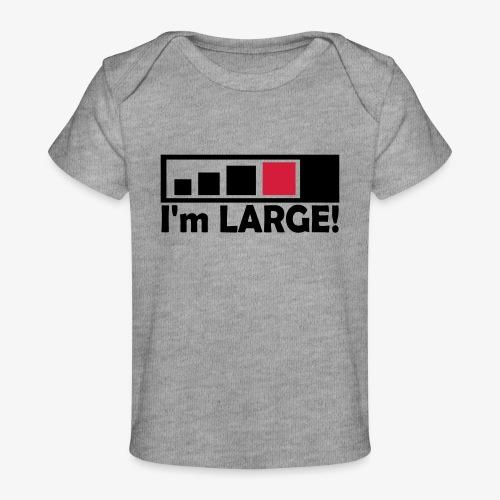 large_geocacher - Baby Bio-T-Shirt