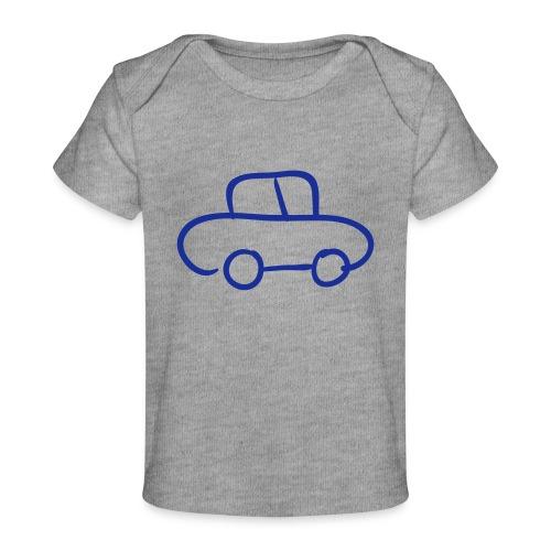 Van Line Drawing Pixellamb - Baby Bio-T-Shirt