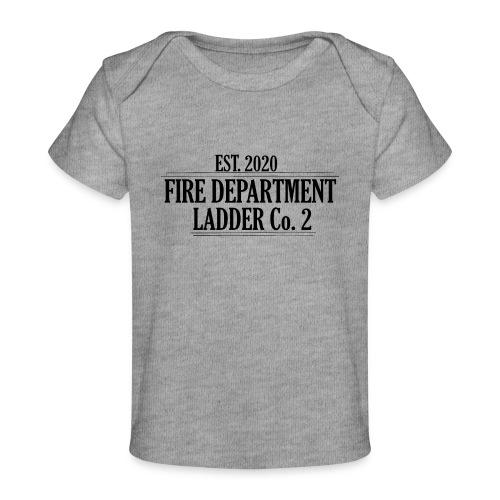 Fire Department - Ladder Co.2 - Økologisk T-shirt til baby