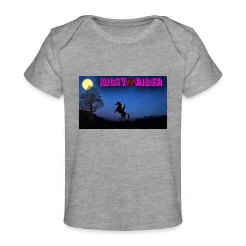 nightrider merch - Økologisk T-shirt til baby