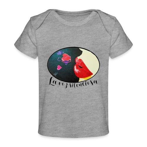 La Voz Silenciosa - Besos - Camiseta orgánica para bebé
