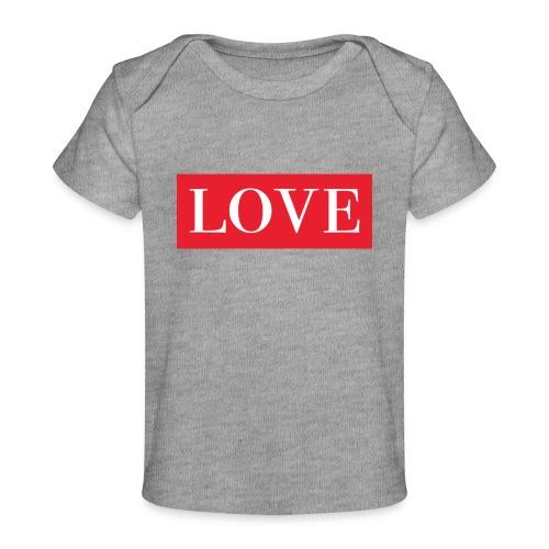 Red LOVE - Organic Baby T-Shirt
