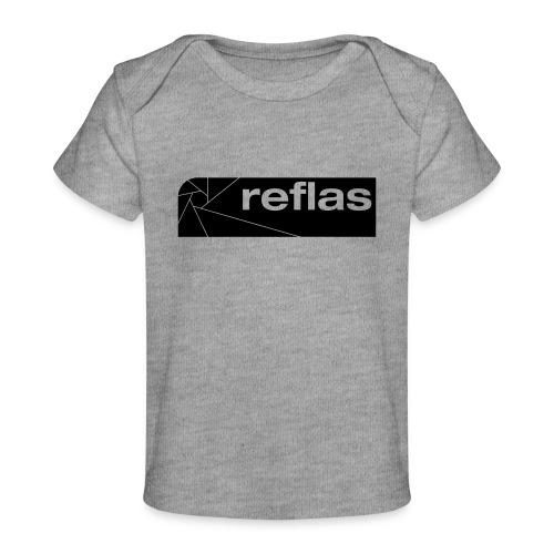 Reflas Clothing Black/Gray - Maglietta ecologica per neonato