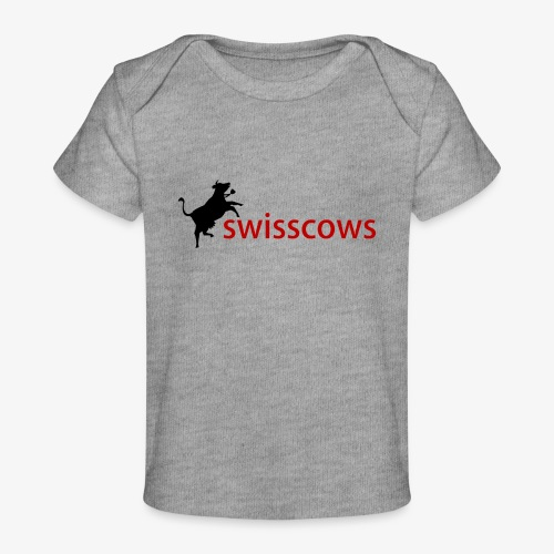 Swisscows Logo - Baby Bio-T-Shirt