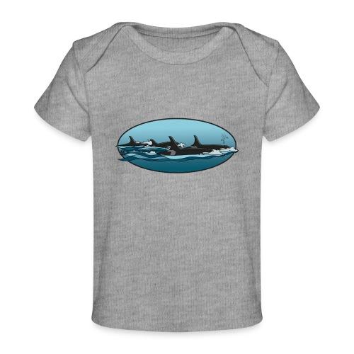 Orca - Baby bio-T-shirt