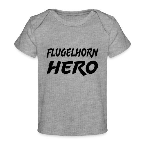 Flugelhorn Hero - Økologisk baby-T-skjorte
