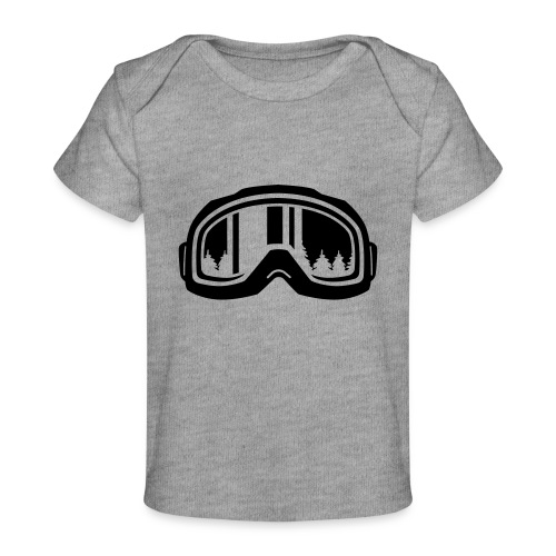 snowboard - Baby bio-T-shirt