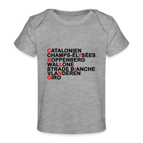 CYKLING - Økologisk T-shirt til baby