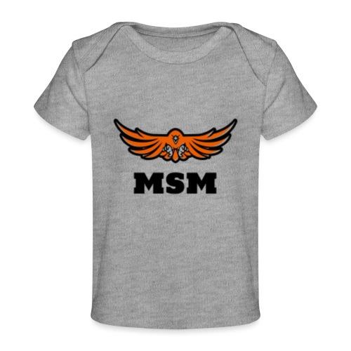 MSM EAGLE - Økologisk T-shirt til baby
