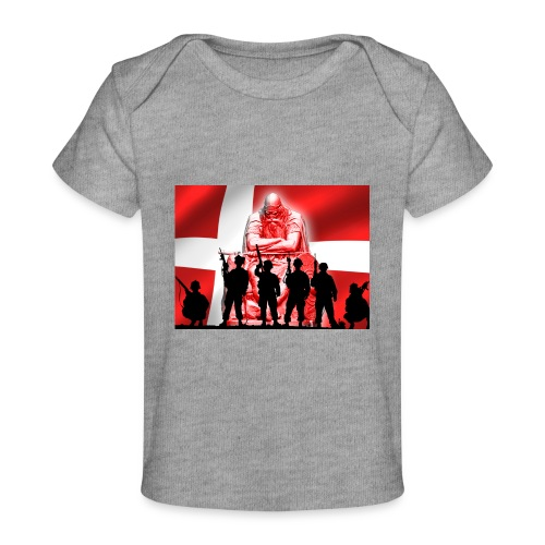 Holger Danske - Økologisk T-shirt til baby