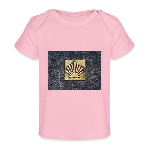 Scallop Shell Camino de Santiago - Organic Baby T-Shirt