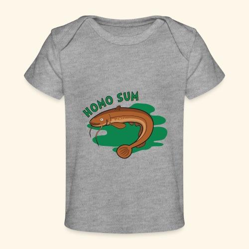 Homo sum ;) - Ekologiczna koszulka dla niemowląt