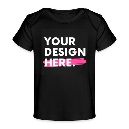 Custom-made - Ekologisk T-shirt baby