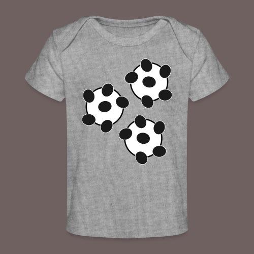 GBIGBO zjebeezjeboo - Fun - Wiggle Wiggle 01 Noir - T-shirt bio Bébé