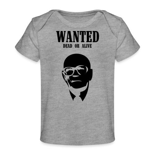 Kekkonen Wanted - Dead or Alive - Vauvojen luomu-t-paita