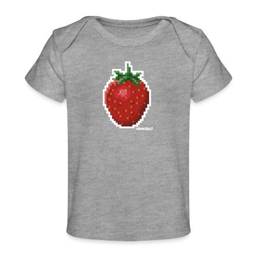 Erdbeer - Baby Bio-T-Shirt