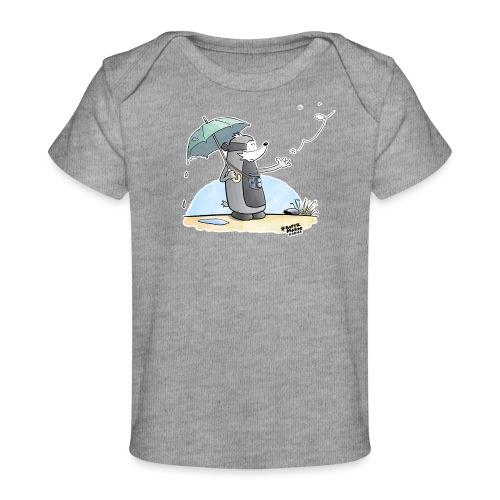 Snowflake - Økologisk baby-T-skjorte