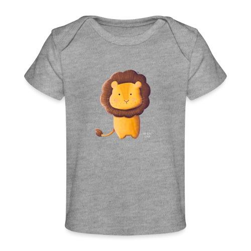 Kleiner Löwe - Baby Bio-T-Shirt