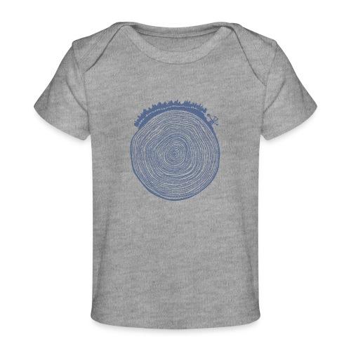 Kattoo Blau - Baby Bio-T-Shirt