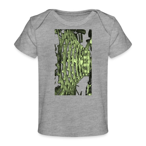 cluster_pale_green_copy - Organic Baby T-Shirt