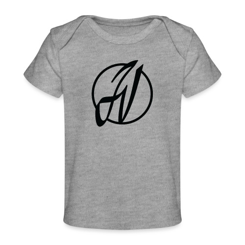 JV Guitars - logo noir - T-shirt bio Bébé