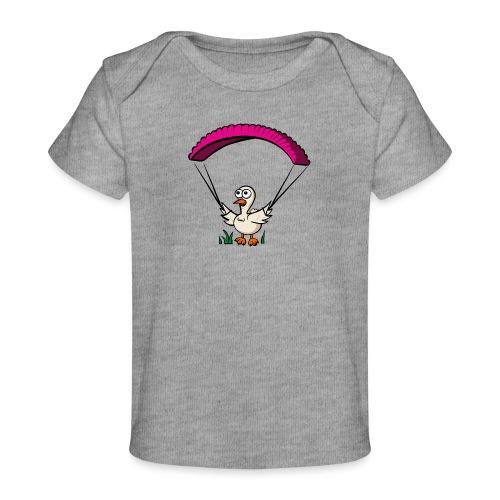 Groundhendl Groundhandling Hendl Paragliding Huhn - Baby Bio-T-Shirt