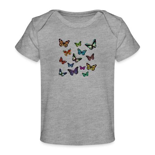 Butterflies flying - Ekologisk T-shirt baby