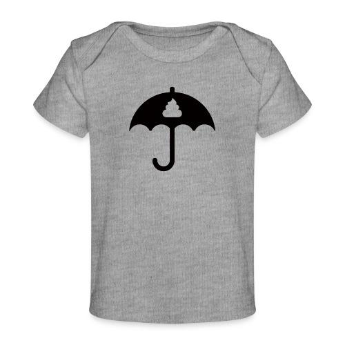 Shit icon Black png - Organic Baby T-Shirt