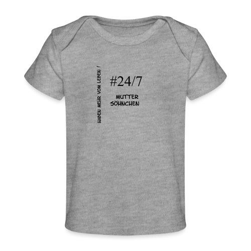 Muttersöhnchen - Baby Bio-T-Shirt