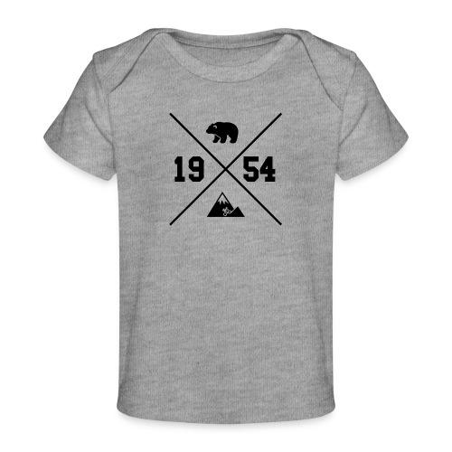 Karhuvuori -baseballhuppari - Vauvojen luomu-t-paita