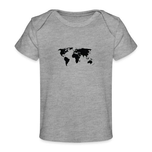 World - Økologisk T-shirt til baby