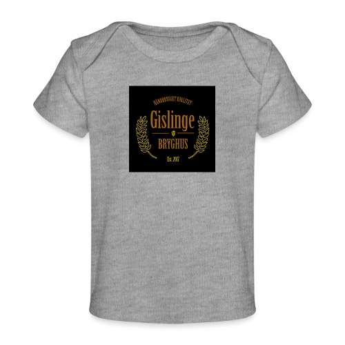 Sort logo 2017 - Økologisk T-shirt til baby