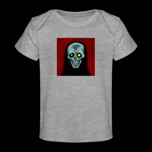 Ghost skull - Organic Baby T-Shirt