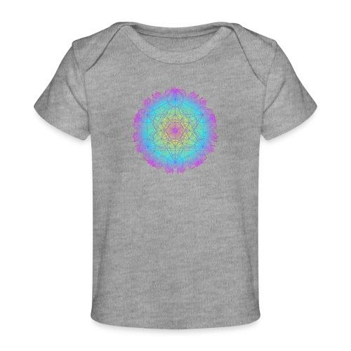 Cube de Métatron , géométrie sacré de l'archange - T-shirt bio Bébé