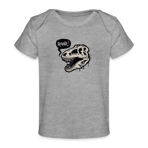 DINO RAWR 1 - Camiseta orgánica para bebé