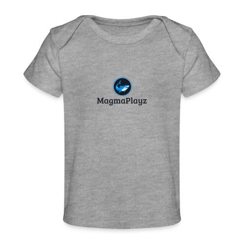 MagmaPlayz shark - Økologisk T-shirt til baby
