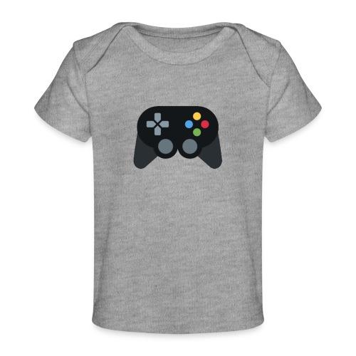 Spil Til Dig Controller Kollektionen - Økologisk T-shirt til baby